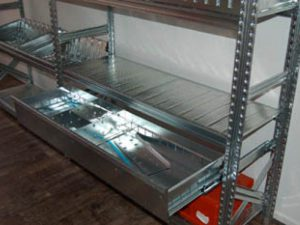 Fachbodenregal 1-2-3-Metalsistem