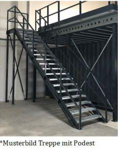 Treppe-mit-Podest-Musterbild-Noordrek